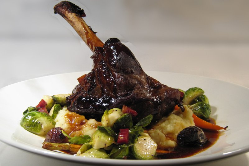 Scarsdale Diet Money Savers - Braised Lamb Shank